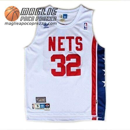 55db01165 ... Julius Erving Blue Jerseys Canotte nba Retro ABA Erving 32 bianco Brooklyn  Nets maglie basket a poco prezzo Pinterest NBA Adidas ...