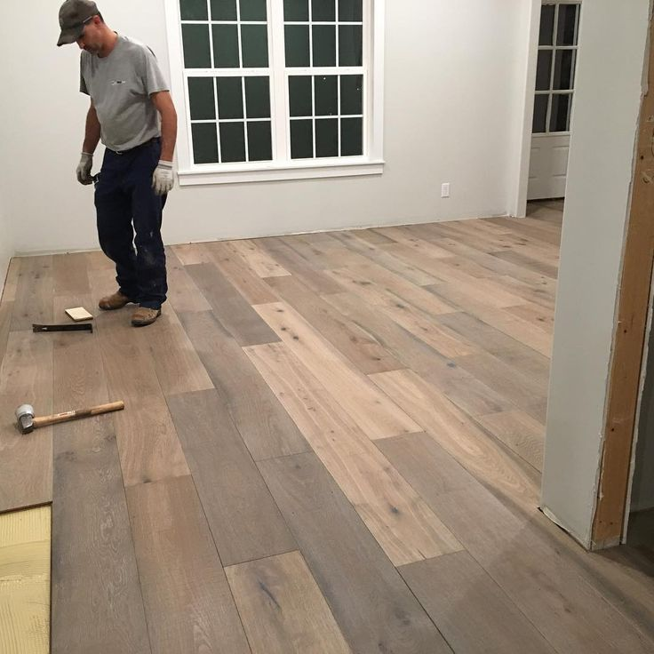 "105 Likes, 6 Comments - Courtney West (@courtneyhwest) on Instagram: ""You guys, we (yes, me too!) burned the midnight oil laying hardwood floors last night. We have a…"""