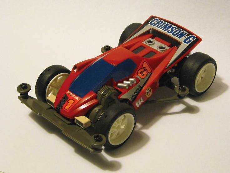 Crimson Glory by Aran (original) | Mini 4WD | #Mini4WD | #Tamiya