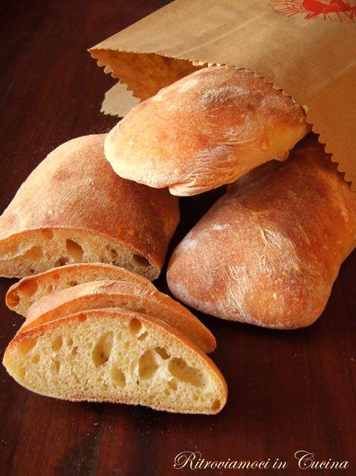 Ritroviamoci in Cucina: Italian Ciabatta (75% idration).