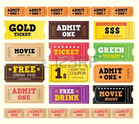 The 25+ best Cinema ticket ideas on Pinterest Ticket, Movie - printable movie ticket template