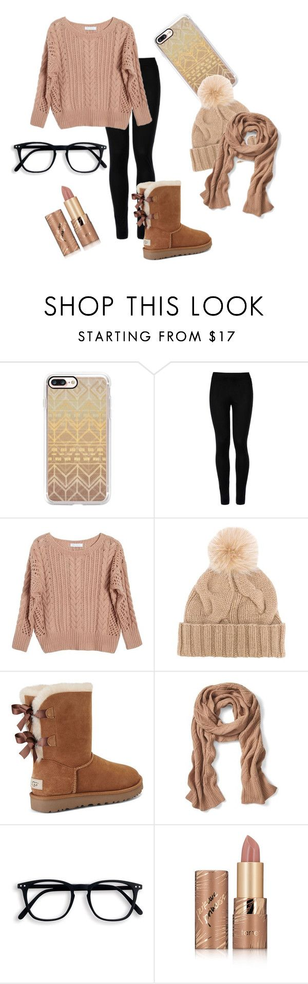 """Fall"" by electraz on Polyvore featuring Casetify, Wolford, Ryan Roche, Loro Piana, UGG, Banana Republic and tarte"