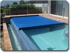 coverstar automatic pool covers. Coverstar Auto Cover On Vanishing Edge Pool Automatic Covers