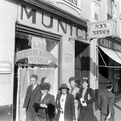 https://flic.kr/p/cSxHNN | los porteños asiduos al Munich o al Riquet eran sistematicamente vigilados | nazis chilenos en archivos norteamericanos 1938-40