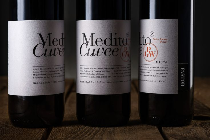 PASTOR WINERY'S Playful Typography — The Dieline - Branding & Packaging Design