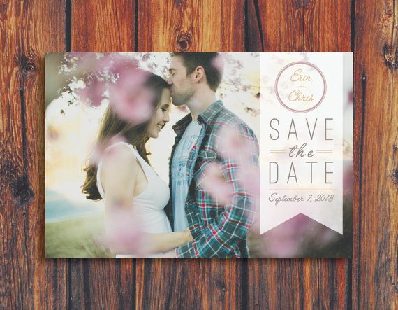 """Save the Date""-Karte"