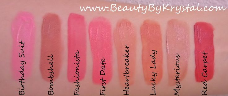 The ELF Studio Lip Stains are $3.00ea and come in eight shades; Birthday Suit, Bombshell, Fashionista, First Date, Heartbreaker, Lucky Lady, Mysterious