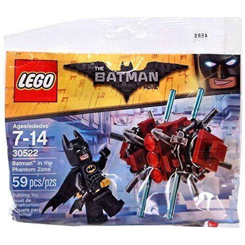 59pcs LEGO Batman Knight Movie Theme Phantom Zone Polybag Toys Figures Kit Gift
