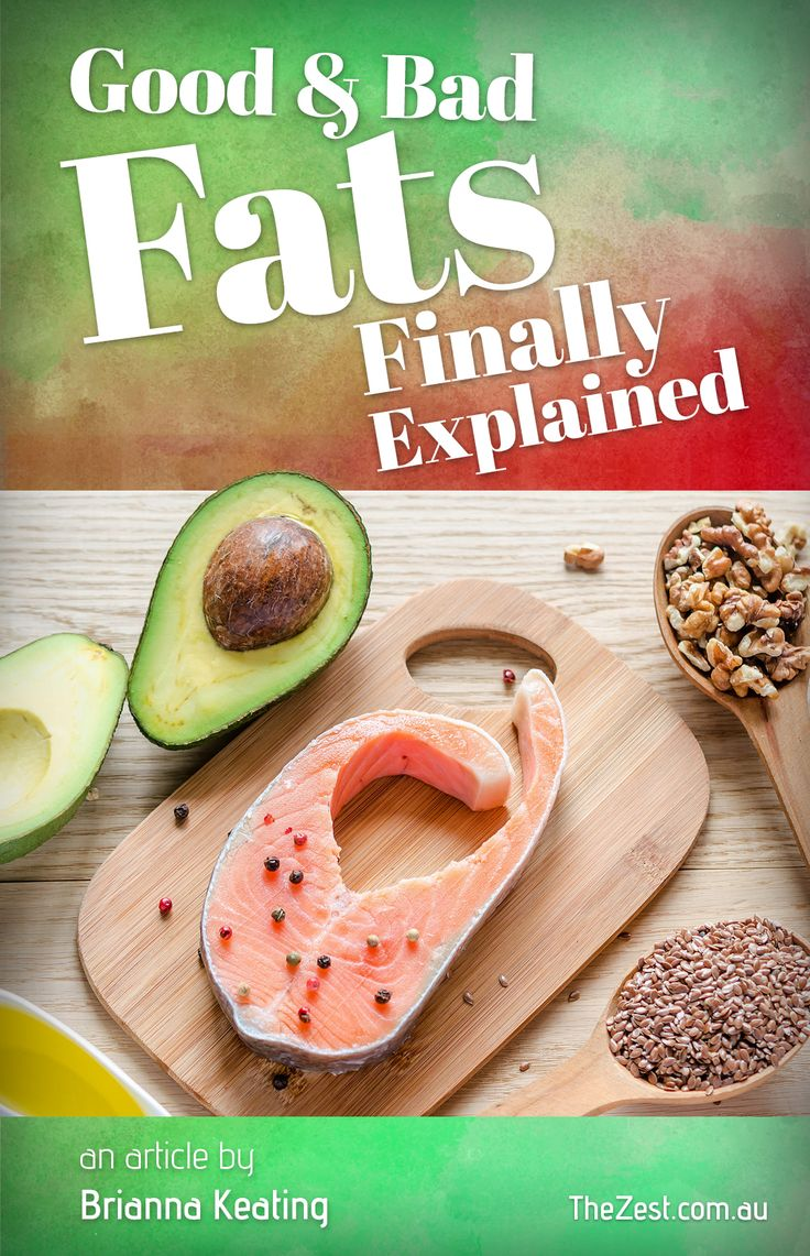 If you've been confused by the changing and contradictory information about the topic of healthy fats recently, then you are not alone. For decades, even the humble egg was victim to http://www.thezest.com.au/article/?article=good-fats-bad-fats-explained