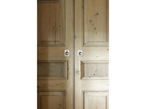 Gorgeous Wood Doors, Bates And Corkern Via Atlanta Homes