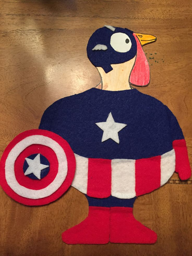 Disguise a Turkey....the Captain