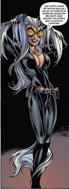 Image result for ultimate black cat marvel