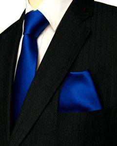 Cobalt Blue Silk Tie and Hanky  #retro wedding ... Wedding ideas for brides, grooms, parents & planners ... https://itunes.apple.com/us/app/the-gold-wedding-planner/id498112599?ls=1=8 … plus how to organise an entire wedding, without overspending ♥ The Gold Wedding Planner iPhone App ♥