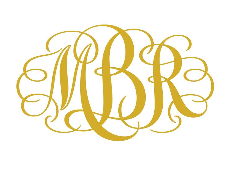 Best  Monogram Fonts Free Ideas On   Fonts For