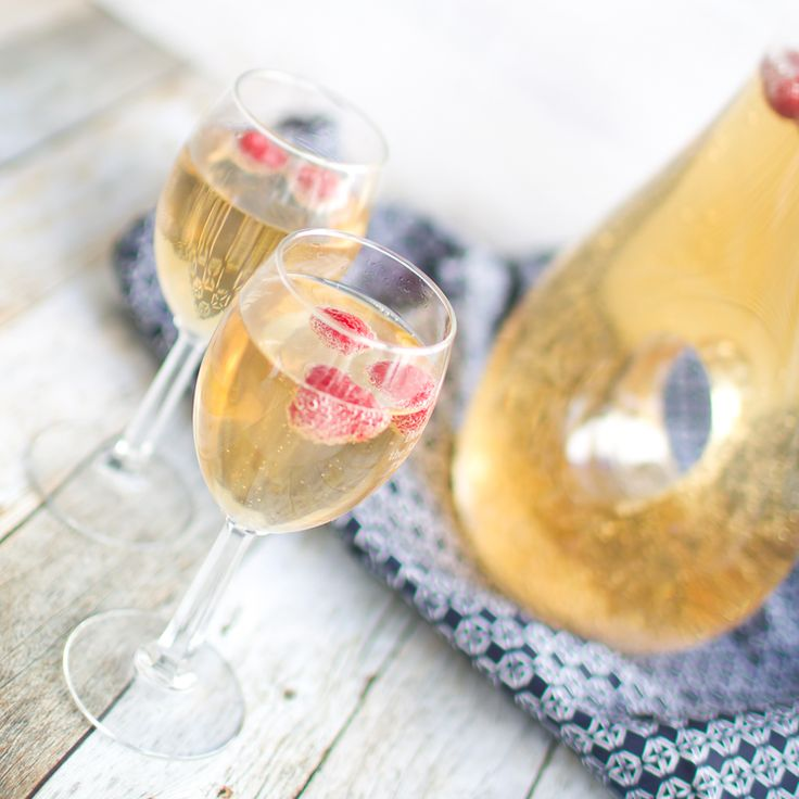 Mock Champagne | 25+ Non-Alcoholic Punch Recipes
