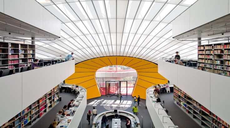 Free University in Berlin. Foster+Partners Architecture