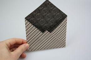Wie man ganz einfach einen Briefumschlag basteln kann, erfährst Du in dieser Bastelanleitung. Jetzt ausprobieren und kreativ werden!