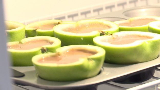 Refrigerate a few hours or overnight. | How To Make Delicious Caramel-Apple Jello Shots