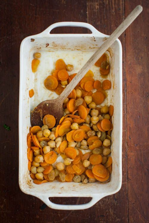 Naturally Ella | Cumin Braised Carrots and Chickpeas