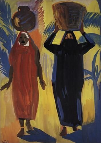 Egyptian women - Martiros Saryan