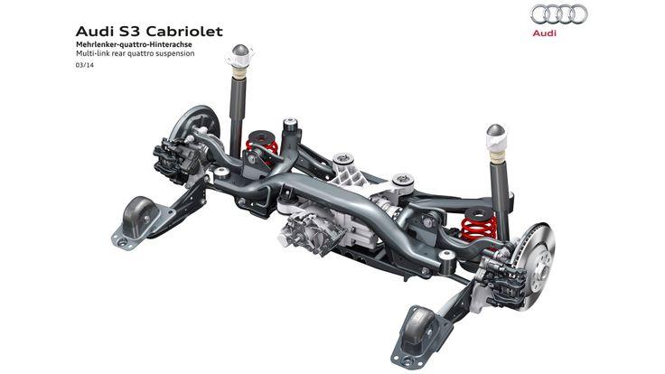 2015 Audi S3 Cabriolet quatro suspension 2015 Audi S3 Cabriolet Include TurboCharger 2.0 TFSI