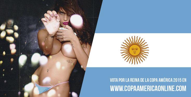 Candidata a Reina de la Copa América 2015, representando a Argentina Magali Mora a Votar por tu favorita #ReinaCopaAmerica2015 http://ow.ly/Ojdjq