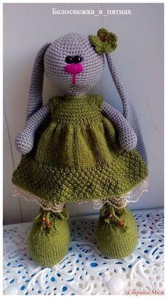 Здравствуйте!!! Хочу поделиться описанием платья для Зайки в стиле тильда. Очень многим понравилось такое платье