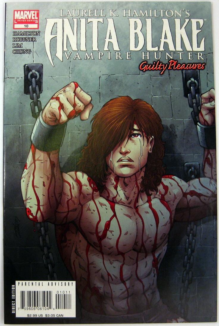 Anita Blake: Vampire Hunter  Guilty Pleasures #10 Marvelics (2008)