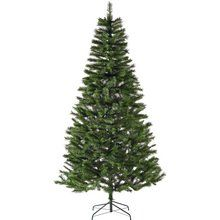 buy home 7ft berry and cone christmas tree green at argoscouk - Christmas Tree Shop Online