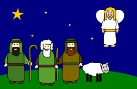 The Shepherds and Angels -- The History of The Christmas Story -- whychristmas?com