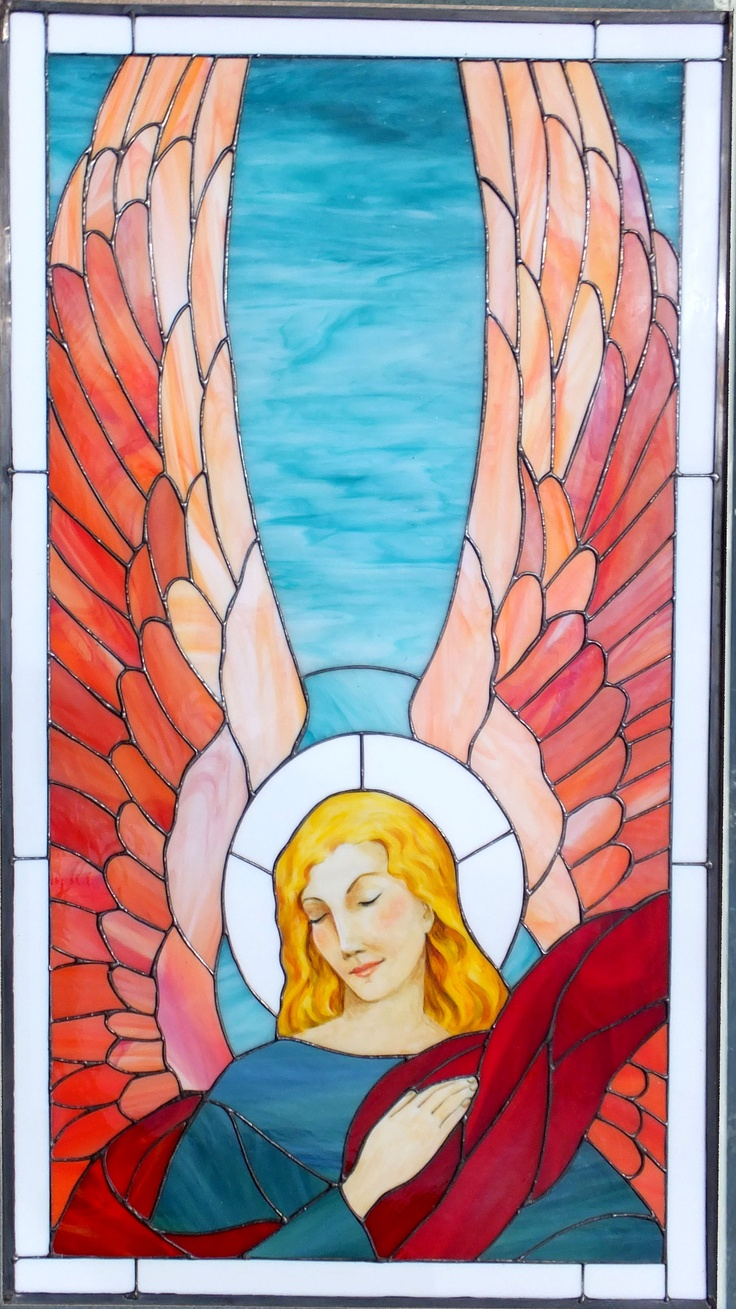 D Stained Glass Angel Patterns