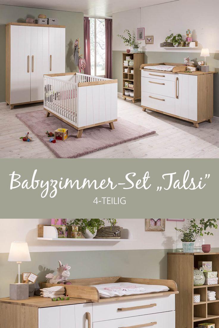 Babyzimmer Set Talsi 4 Tlg Online Kaufen Bei Segmuller Babyzimmer Set Babyzimmer Zimmer