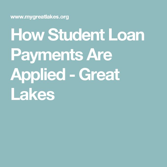 How Student Loan Payments Are Applied - Great Lakes