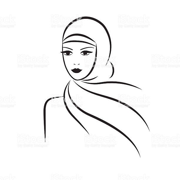 Keren 30 Gambar Kartun Ibu Berhijab Hijab Free Vector Art 4 952