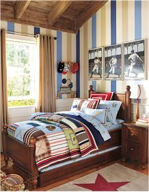 Design Inspiration of Interior,room,and kitchen: Young Boys Sports Bedroom Themes