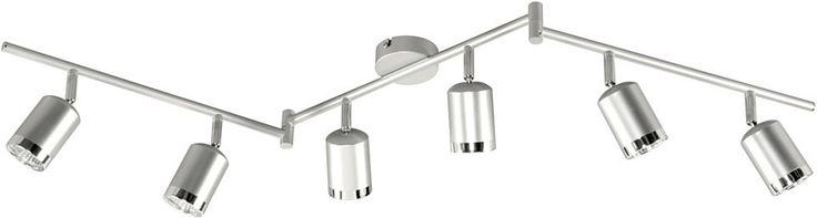 Deckenleuchte, inkl. LED, 6 flammig, Wofi Jetzt bestellen unter: https://moebel.ladendirekt.de/lampen/deckenleuchten/deckenlampen/?uid=6c96e122-857d-584a-b76c-c8902f9f017a&utm_source=pinterest&utm_medium=pin&utm_campaign=boards #deckenleuchten #lampen #deckenlampen