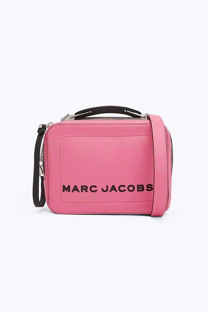 93a5012278 Marc Jacobs The Mini Box Bag in Bright Pink | Marc Jacobs Bags ...
