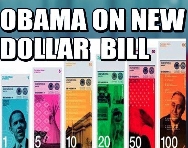 OBAMA ON NEW DOLLAR BILL SERISOULY??? I'll bur…