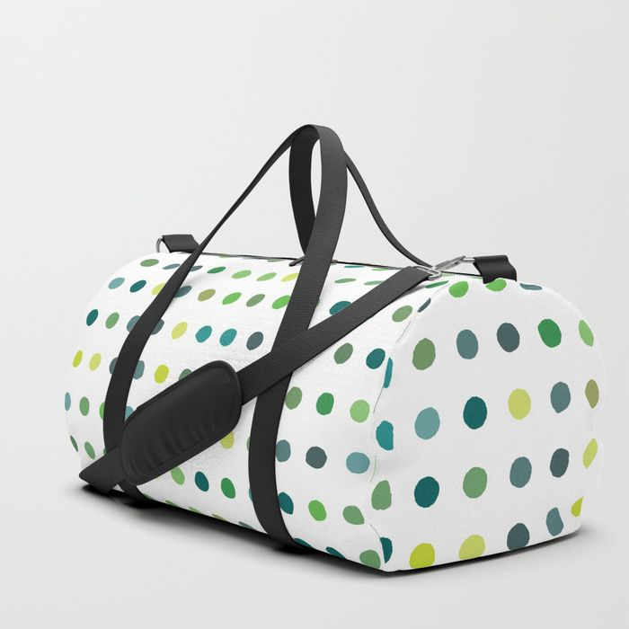 Retro Polka Dots Sports Bag