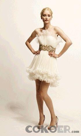 Korta-Brudklänningar-strapless-elfenben-moderna-mini-baby-doll-korta-bröllopsklänningar