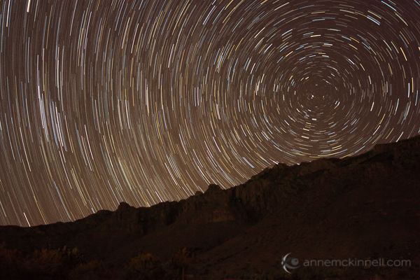 With the warming weather, why not go camping and why not try to take some shots of star trails? Here's a really easy walk-through to help you accomplish this.
