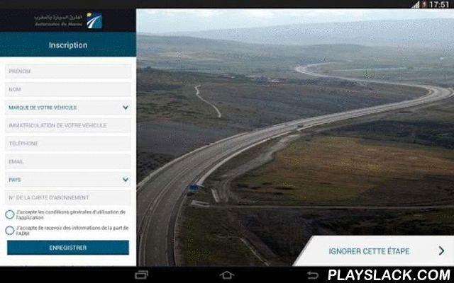 Autoroutes Du Maroc  Android App - playslack.com , L'application Autoroutes Du Maroc est le copilote indispensable à tous vos déplacements sur le réseau autoroutier marocain. Plusieurs fonctionnalités-vous sont proposées :• Mes alertes : l'application utilise le GPS de votre Smartphone pour vous informer en temps réel des événements du trafic (accidents, travaux, bouchons,…) lors de vos trajets sur autoroutes. Vous pouvez également choisir les tronçons et les tronches horaires sur lesquels…