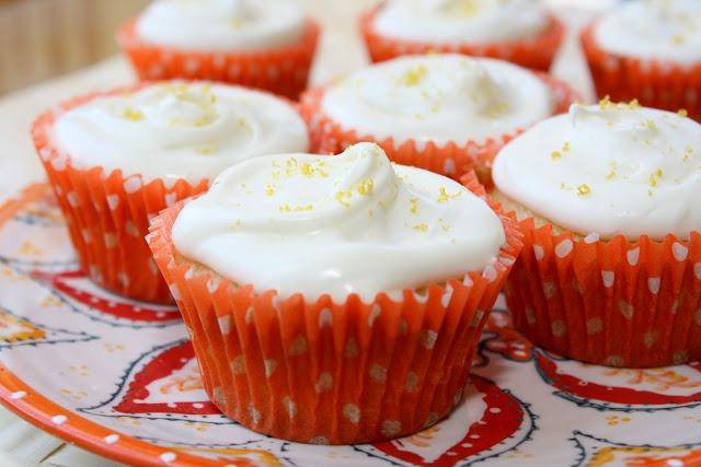 Belgian White Beer Cupcakes