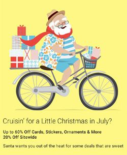 KreaturShop: Major Zazzle Sale: Christmas in July!