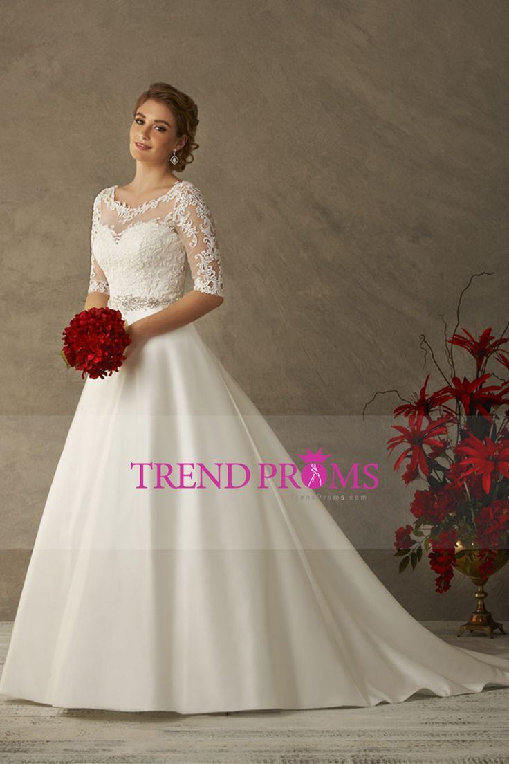 9 best vestido de boda images on Pinterest | Hochzeitskleider, Kleid ...