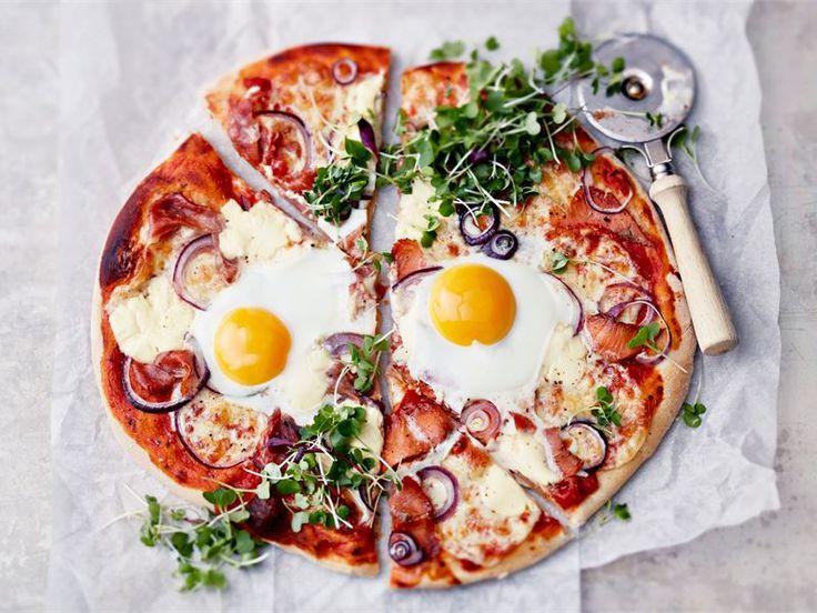 Herkuttelijan mozzarella pizzat