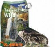 Сухой корм Taste of the Wild для кошек на всех стадиях жизни Roky Mountain олениной и лососем