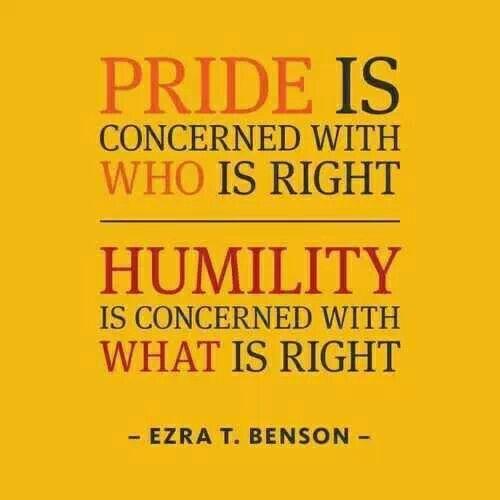 Leadership decisions based on principles i.e. the truth