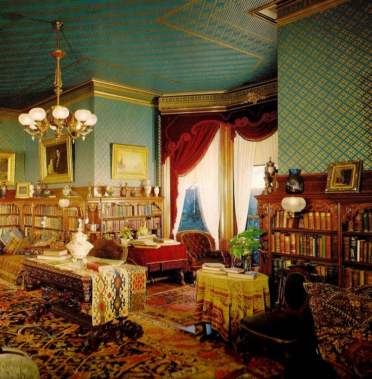 17 best images about victorian interiors on pinterest queen anne mansions and portland maine - Show pics of decorative sitting rooms ...