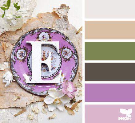 plated palette - voor meer kleur inspiratie en #kleuren trends 2015 - 2016 kijk ook eens op http://www.wonenonline.nl/interieur-inrichten/kleuren-trends/